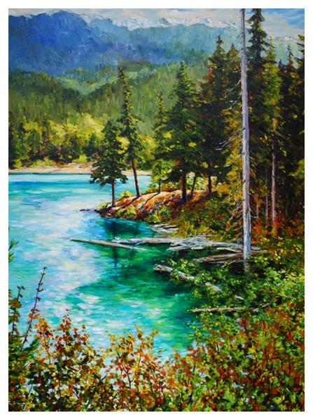 Lost Lake 48x36-$3000