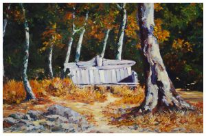 Autumn Repose-30x40-$2350