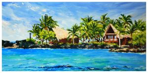 Kona Memories-12x24-Sold
